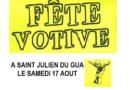 Samedi 17 Août : Fête des Gualopins